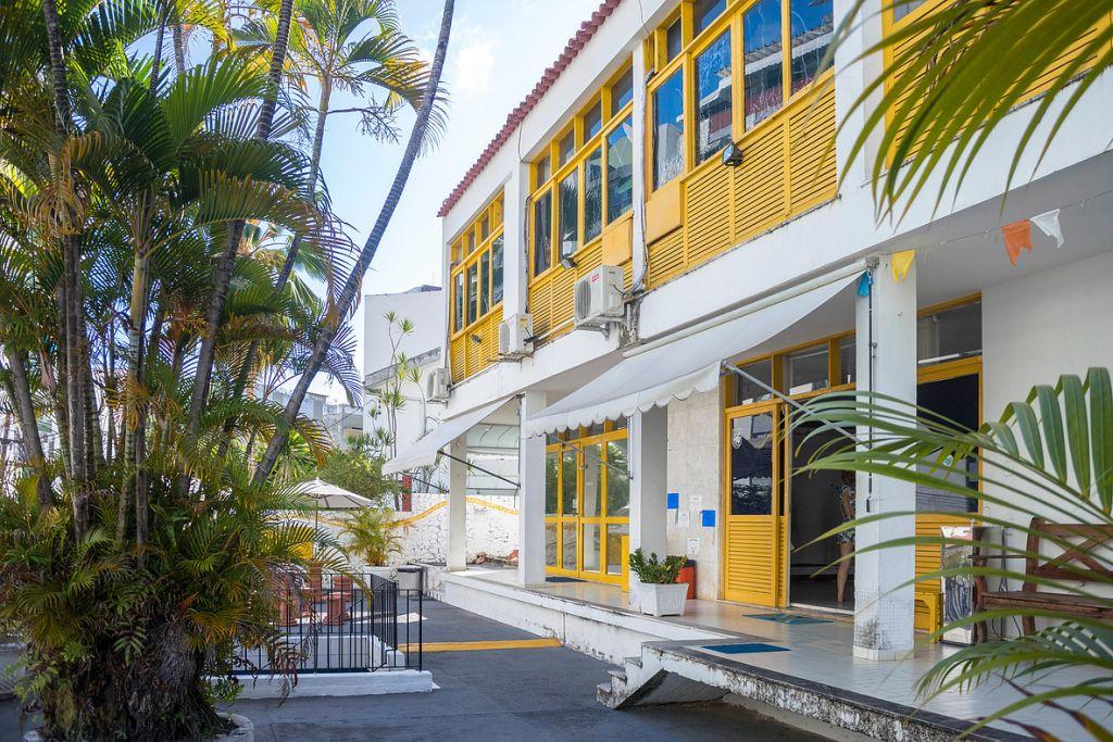 Die Sprachschule in Salvador Bahia, Brasil