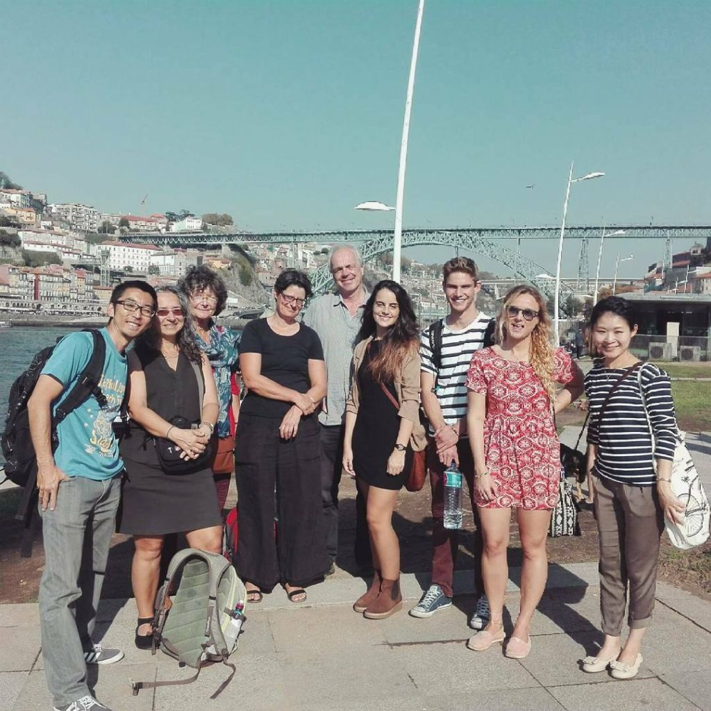 Boat trip mit der Schule in Porto