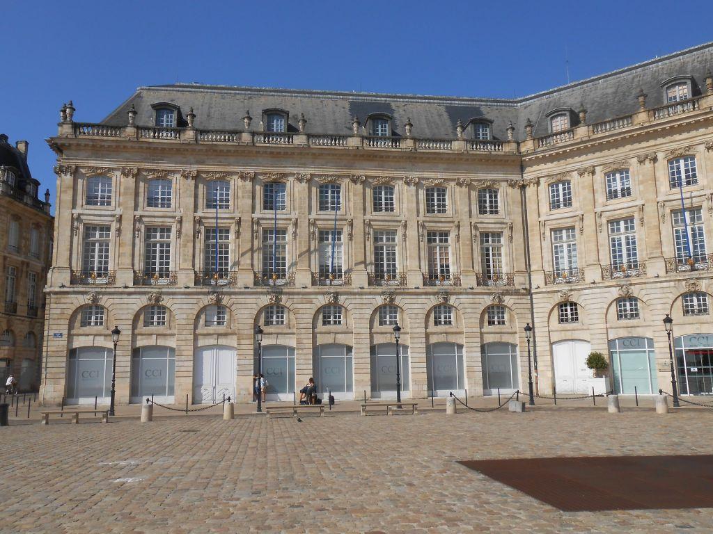Bordeaux - La place de la Borse