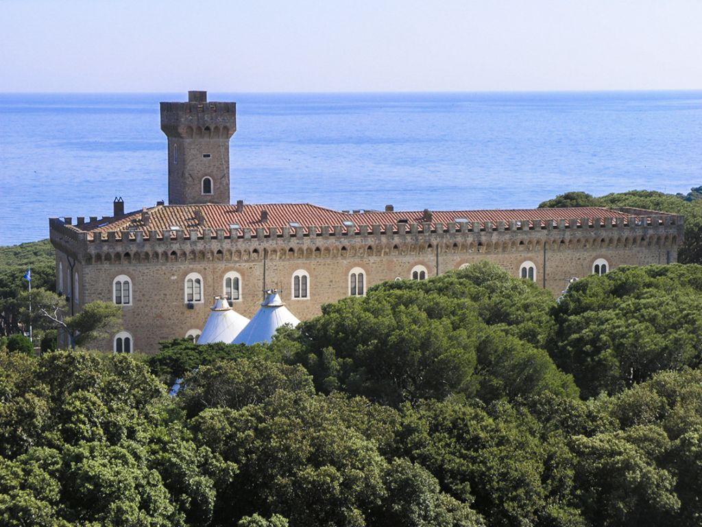 Italienisch lernen im Schloß in Castiglioncello