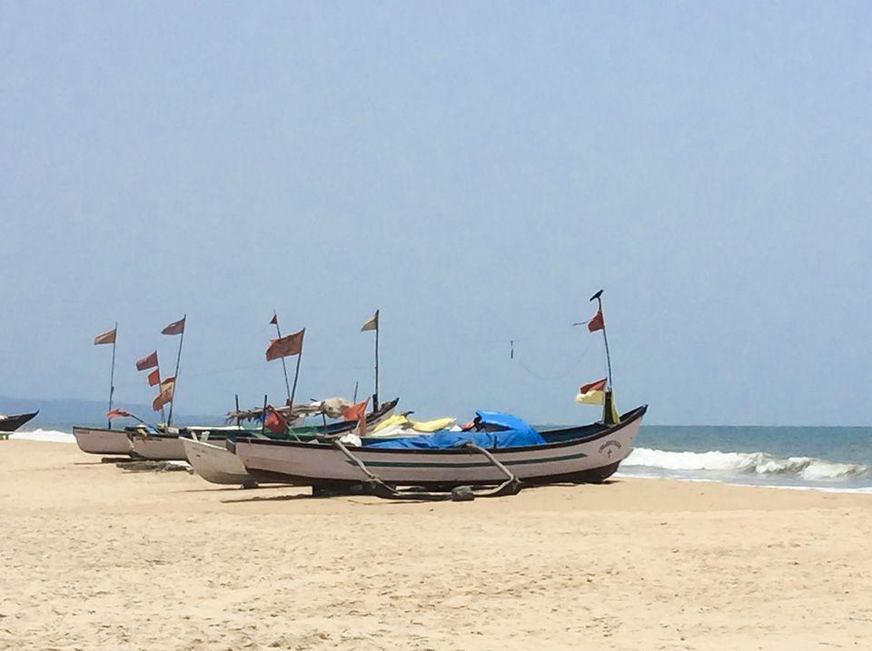 Englischkurs in Goa - Strand von Benaulim