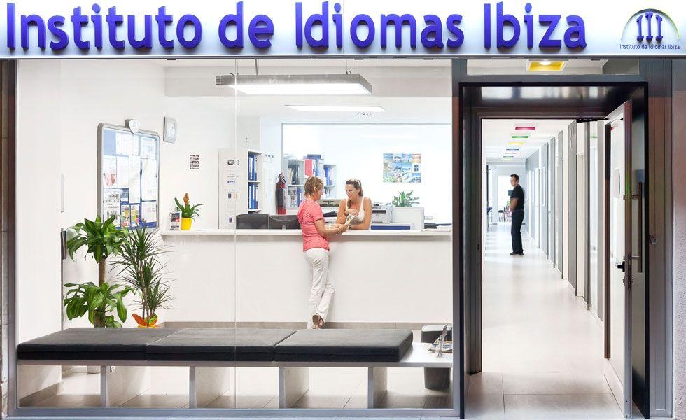 die Sprachschule auf Ibiza
