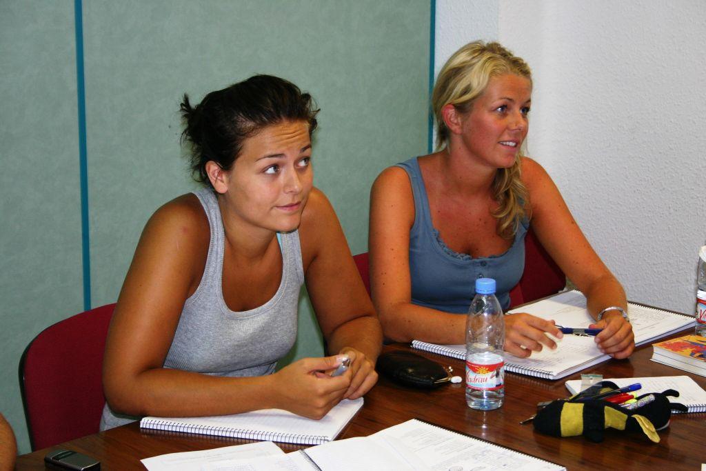 Studenten der Sprachschule in Valencia - Spanisch lernen