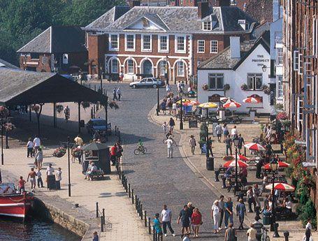 Sprachreise nach Exeter, England