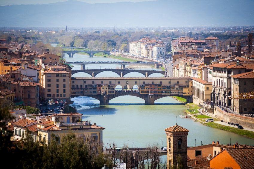 Brücken in Florenz - Italien