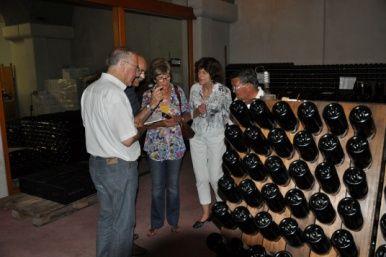 Weinprobe mit der Sprachschule