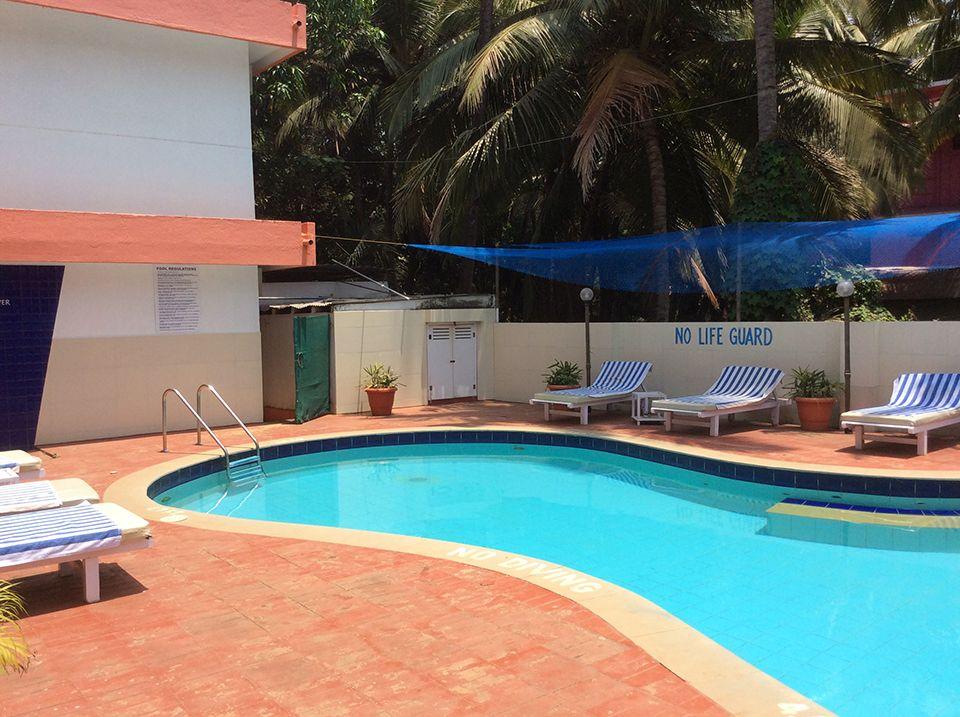 Englisch lernen in Indien Goa, Schulgebäude