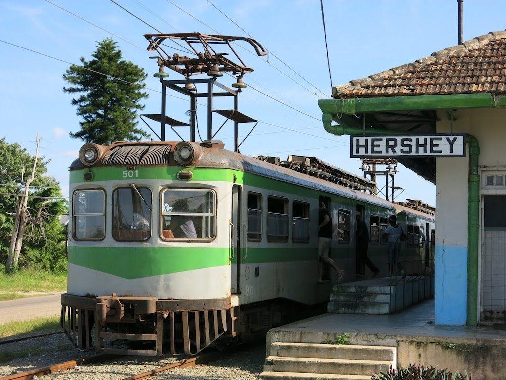 Elekro Zug Hershey aus 1922 von Havanna nach Matanzas