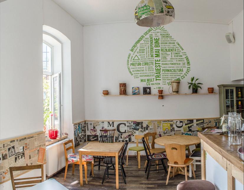 Rumänisch lernen in Iasi im Cafe Cuib