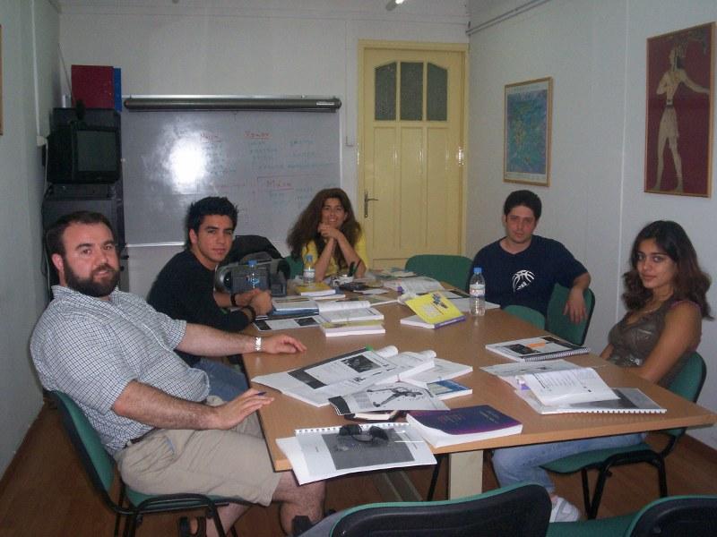 Unsere Sprachschule in Athen