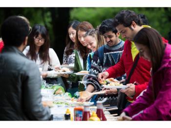 Abendessen mit der Sprachschule - Englisch in Cardiff