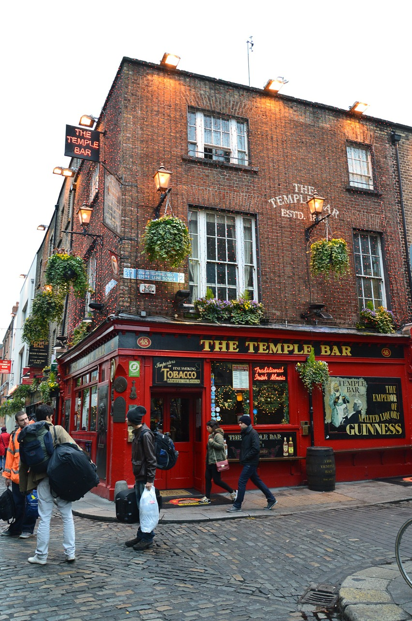 The Temple Bar - Dublin