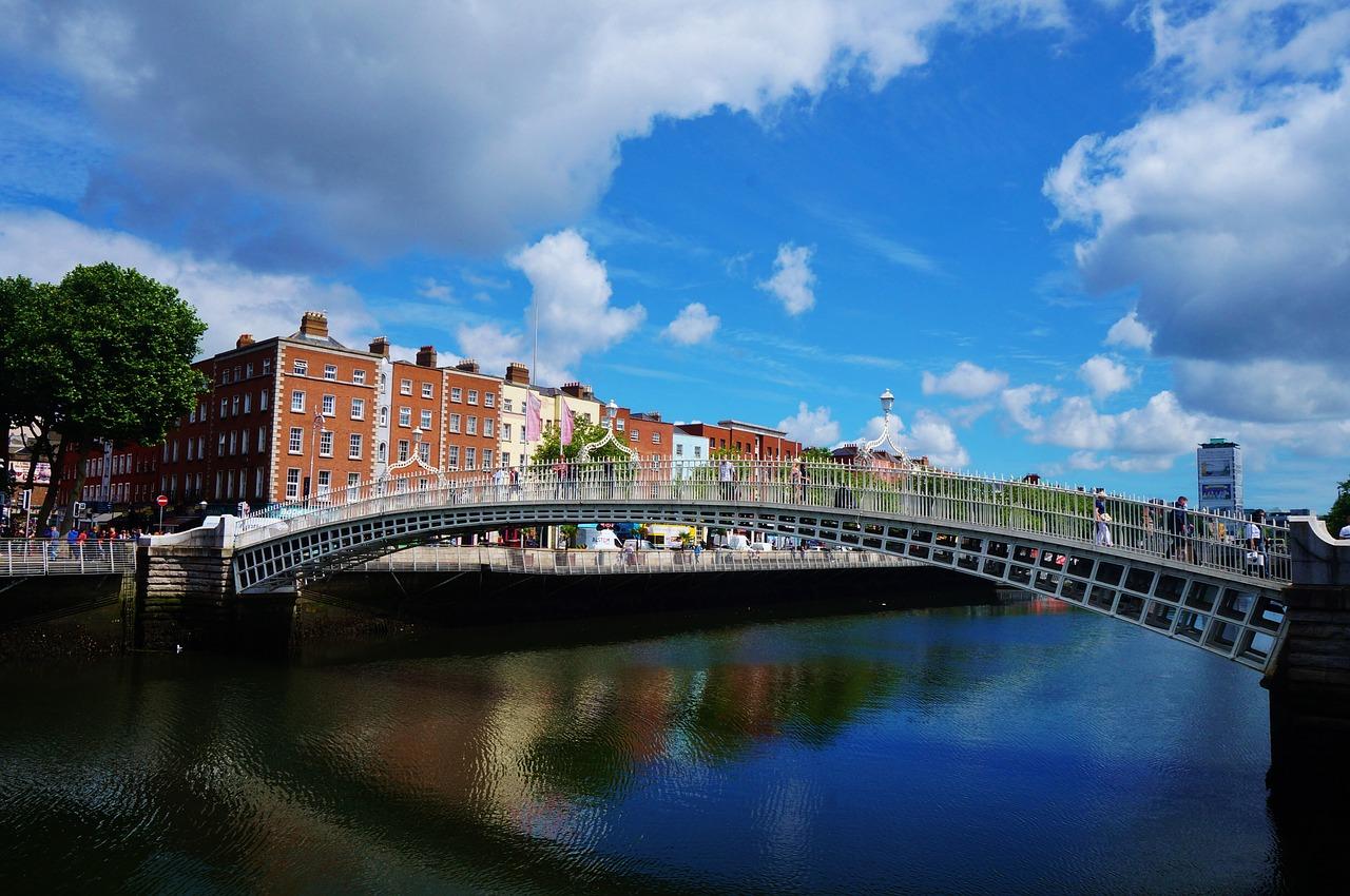 Dublin, Brücke - Englisch lernen