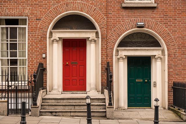 Irish doors - Englisch lernen in Dublin