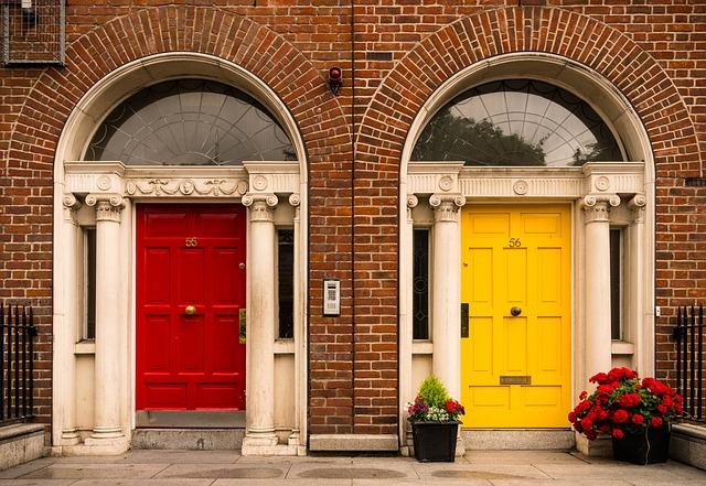 Irish doors - Englisch in Dublin