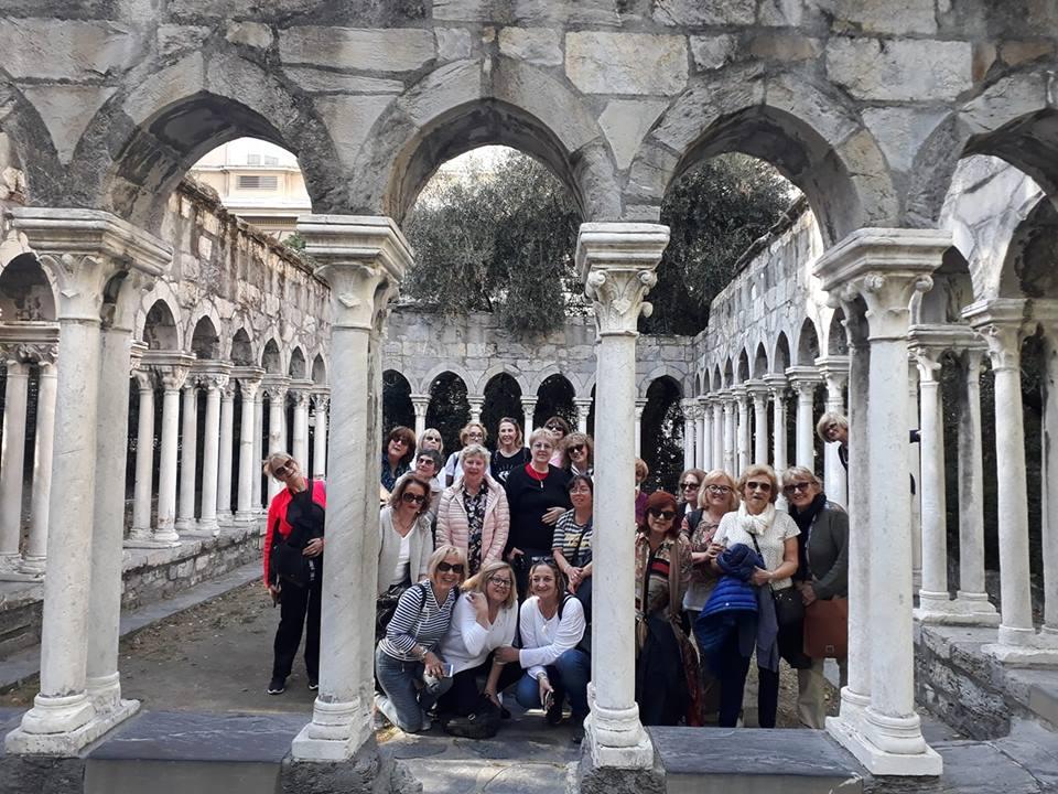 Genua Stadtbesichtigung - Italienisch lernen