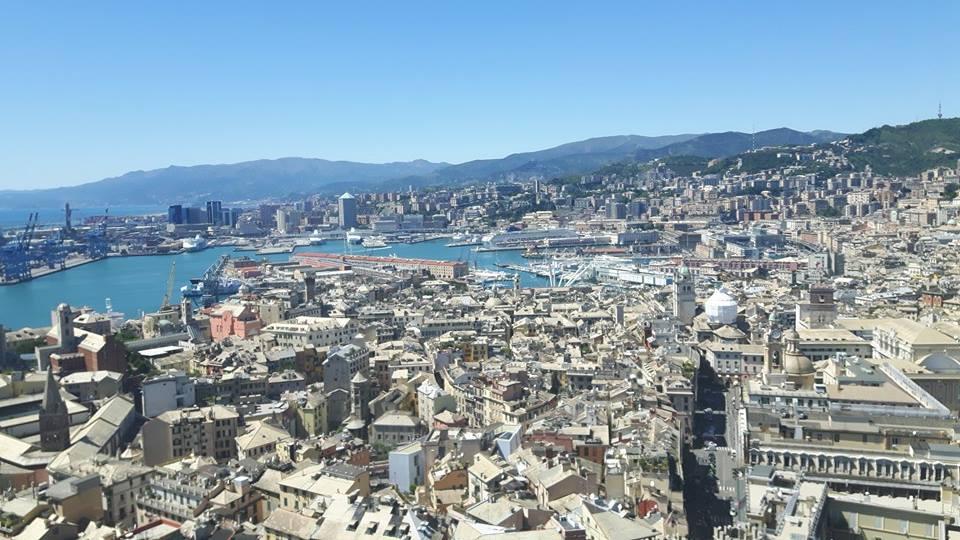 Ausblick auf Genua
