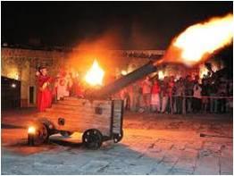 Ceremonia del Canonazo - Spanisch in Havanna