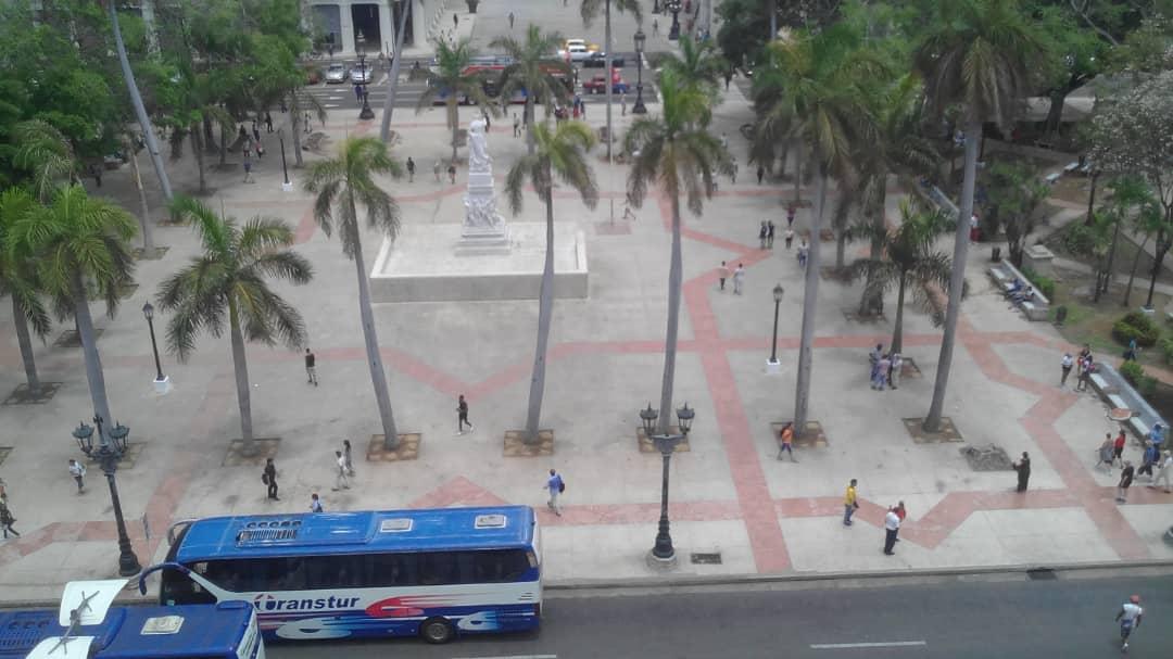 Parque Central de la Habana - Spanisch in Havanna