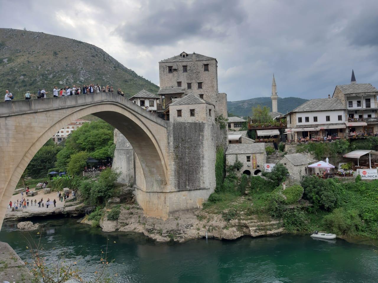 Die Brücke in Mostar