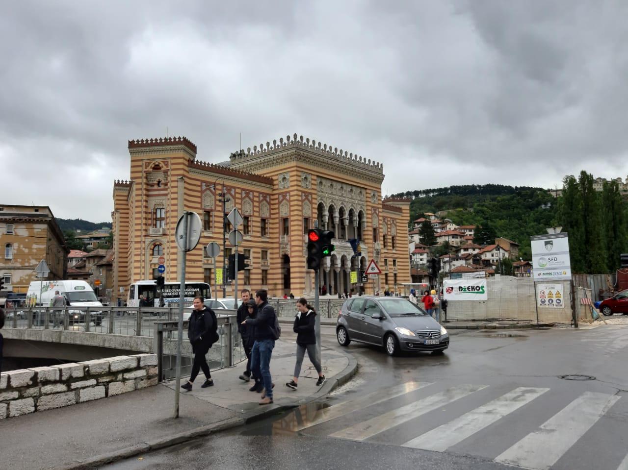 Die Bibliothek in Sarajevo