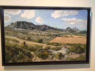 """Au pied des Alpilles"" von Joseph Inguimberty, 1896-1971"