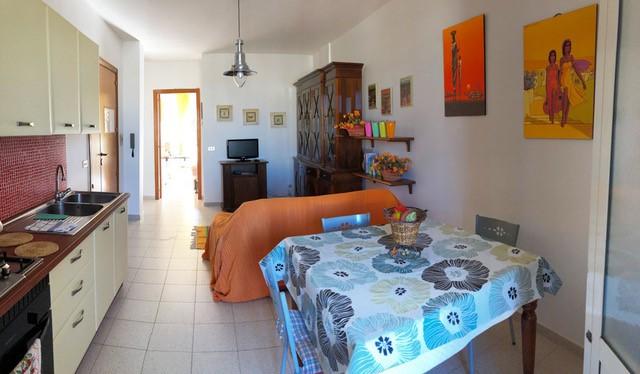 WG in Otranto, Küche
