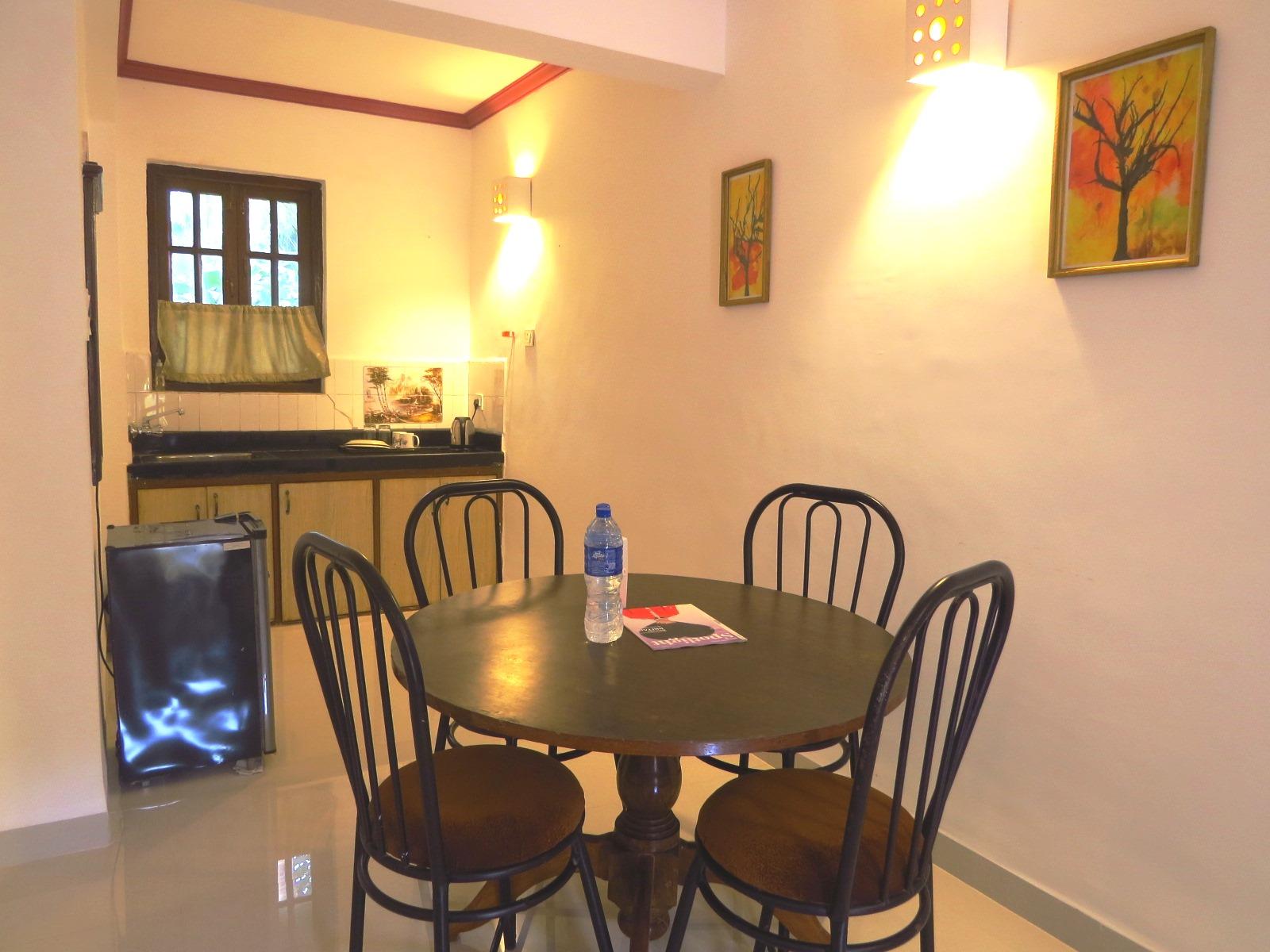 Wohnzimmer der Residenz in Goa