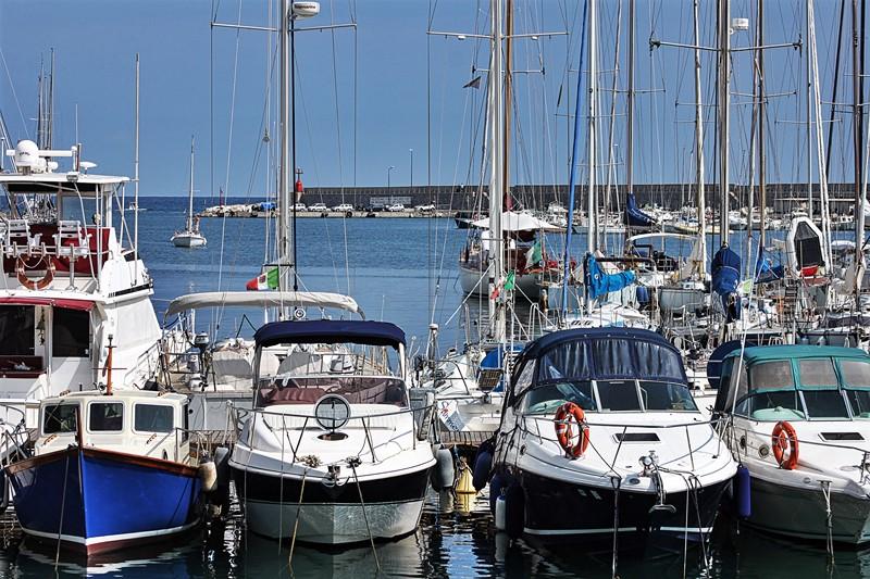 Hafen, Sanremo - Italienisch Sprachreise