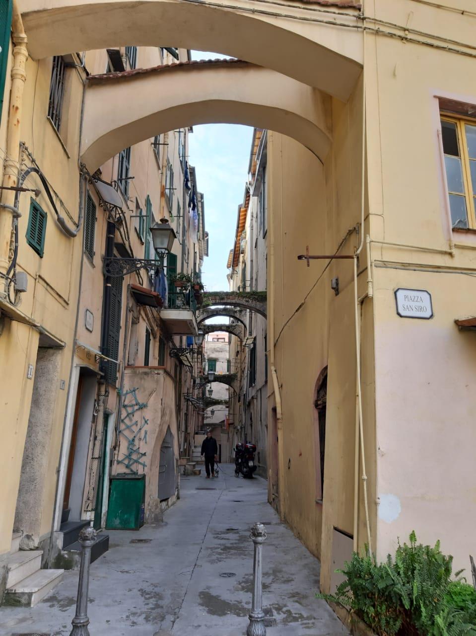 Zentrum von Sanremo