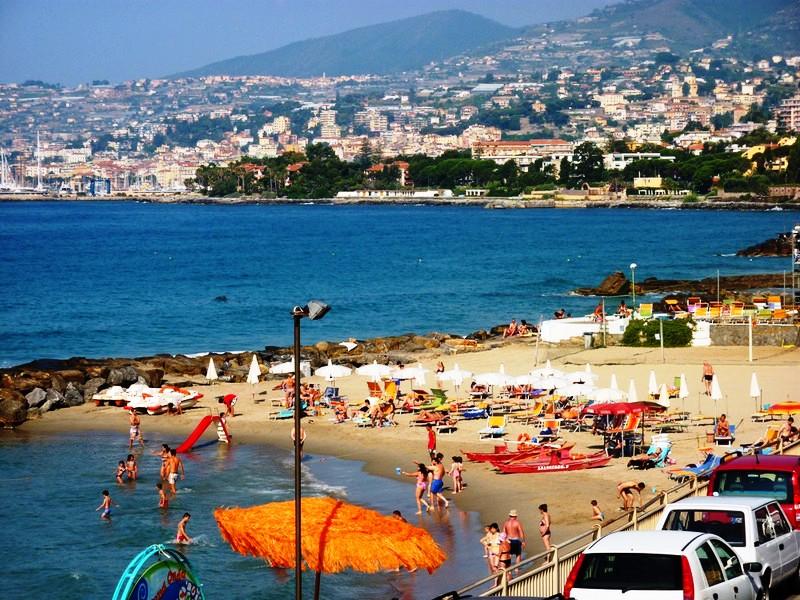 Sanremo - Der Strand