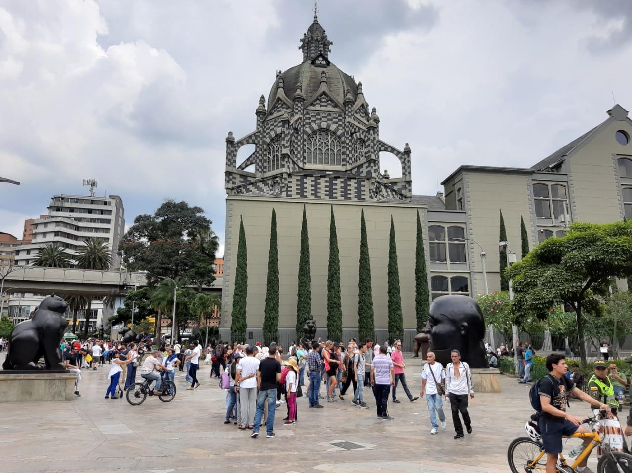 Medellin Zentrum - Spanisch lernen