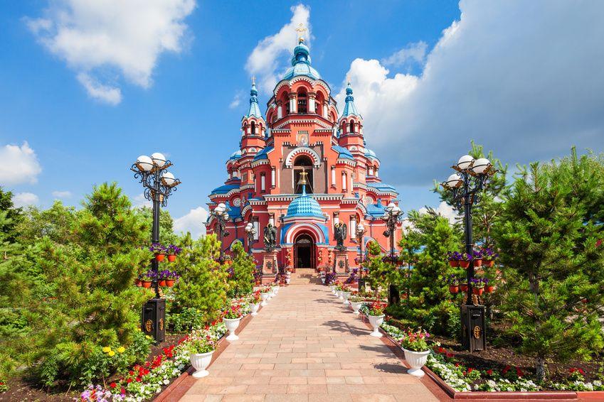Irkutsk - Kirche der Gottesmutter von Kasan