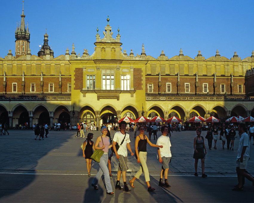 Polnisch lernen in Krakau - Schloss