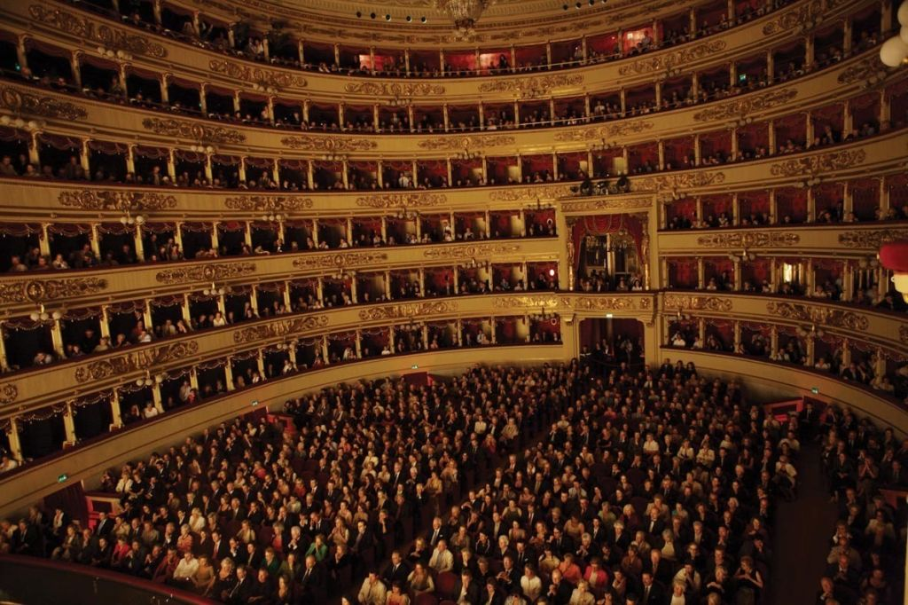 Theater La Scala in Mailand
