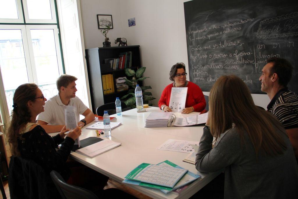 Die Sprachschule in Lissabon