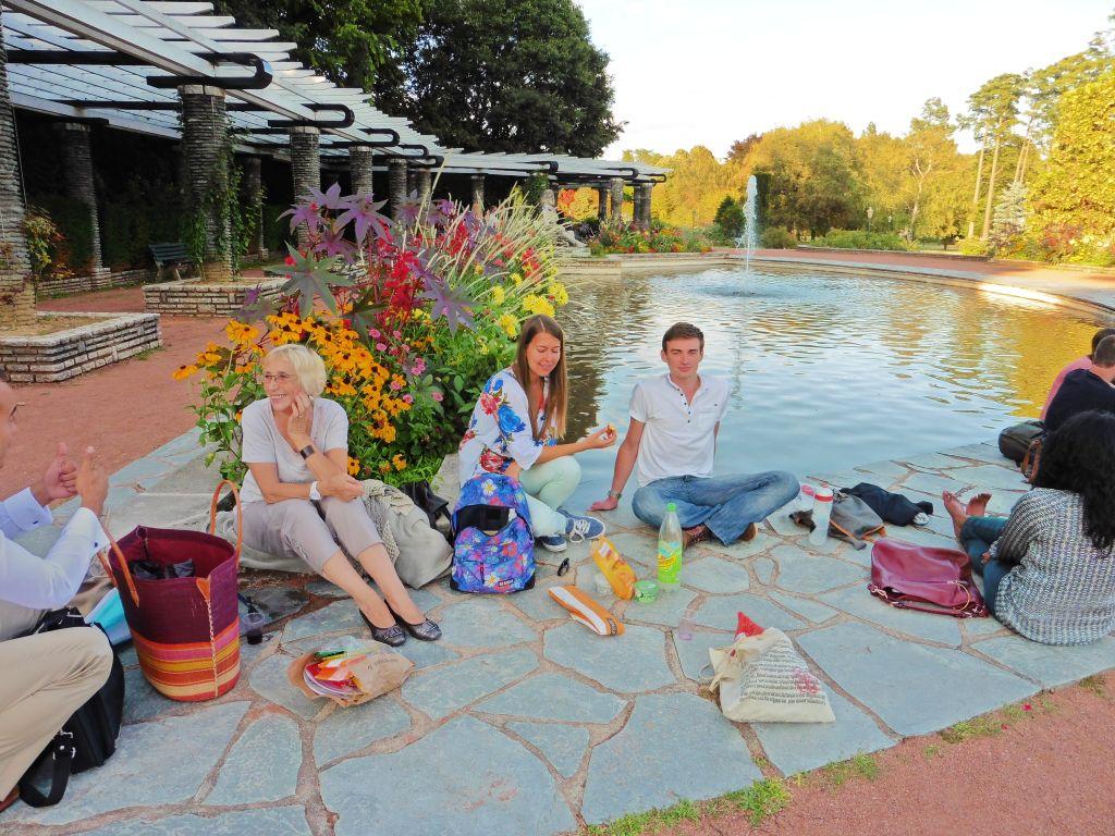 Pic-nic mit der Sprachschule in Lyon
