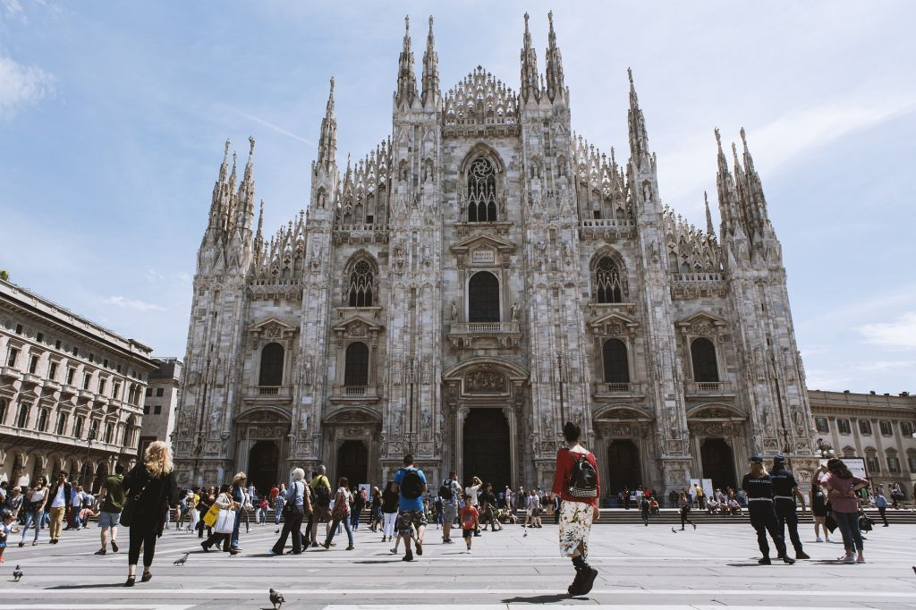 Duomo di Milano, Italienisch lernen