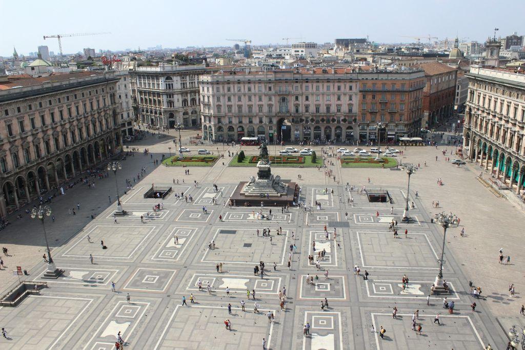 Piazza Duomo a Milano - Italienisch Sprachreise nach Italien
