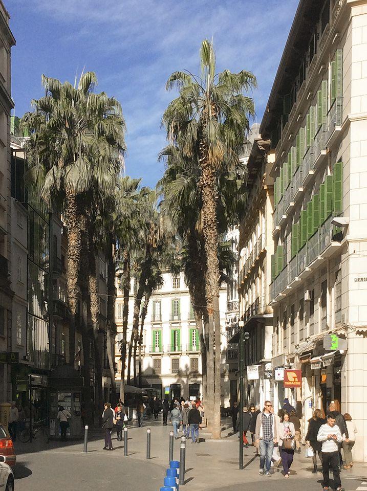 Sprachreise nach Malaga - Stilvolle Altstadt