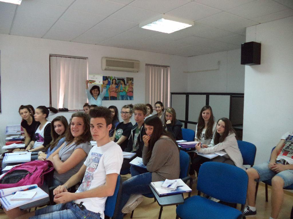 Studenten der Sprachschule in Malta
