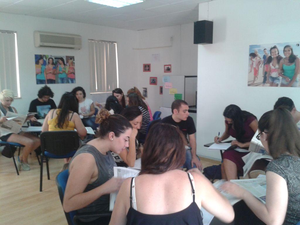 Spraschule in Malta - Unterricht