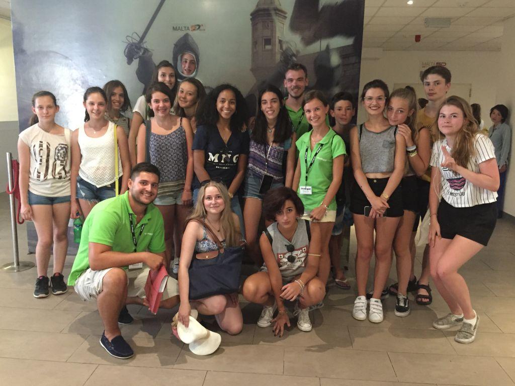 Studenten in Malta