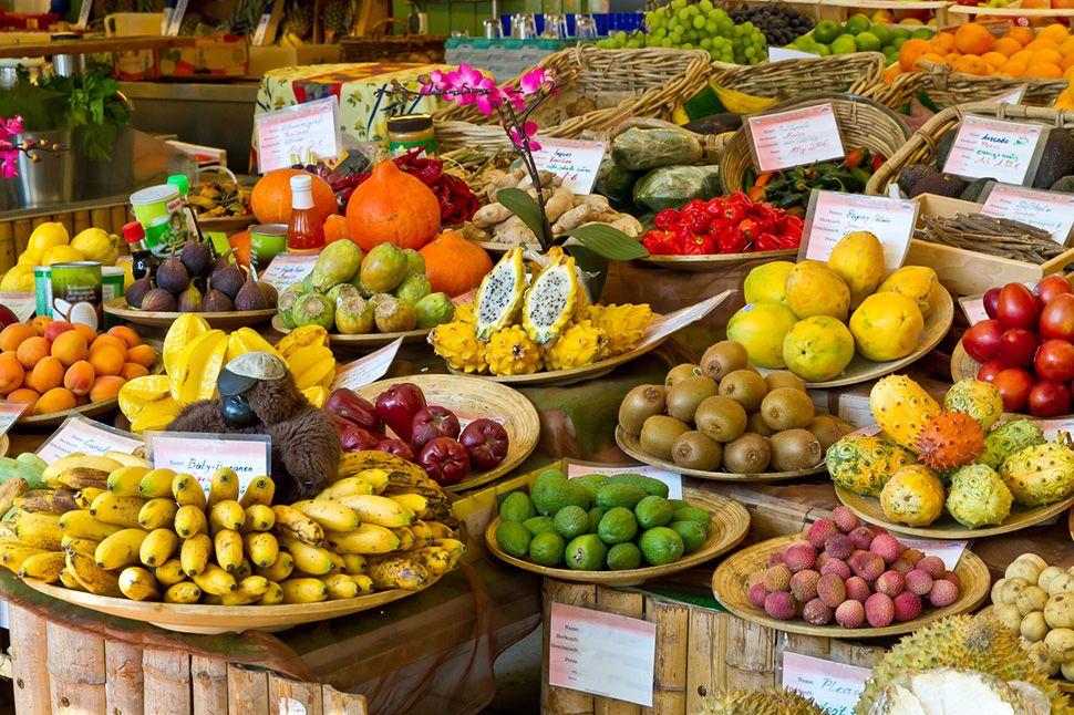 Französisch lernen auf Martinique - Exotischer Markt