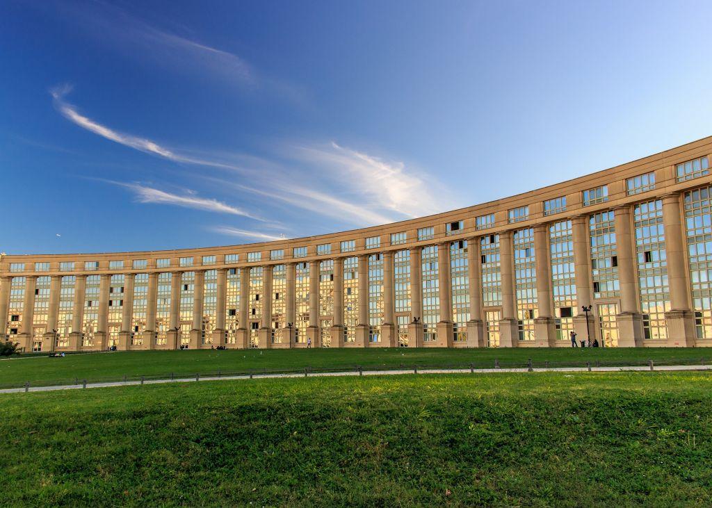 Die Architektur in Montpellier