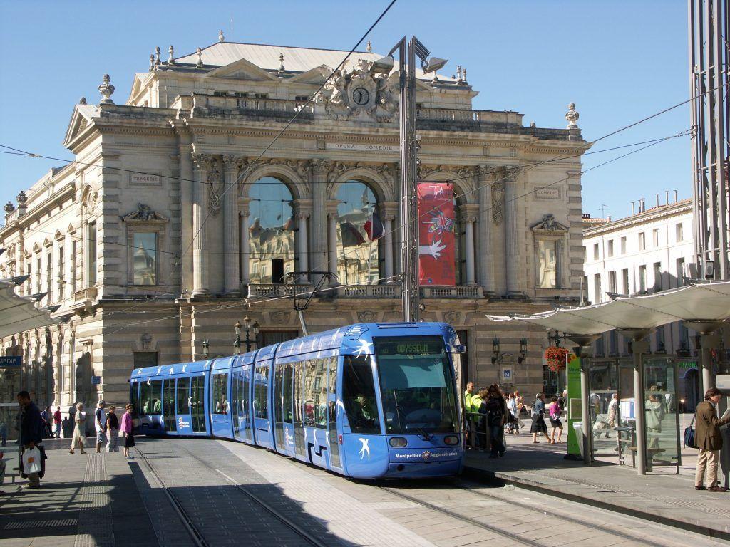 Die Stadt von Montpellier - Sprachreise nach Frankreich