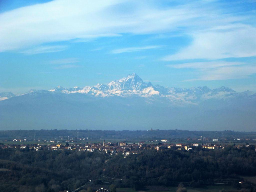 Monviso Berg - Italienisch lernen in Piemont
