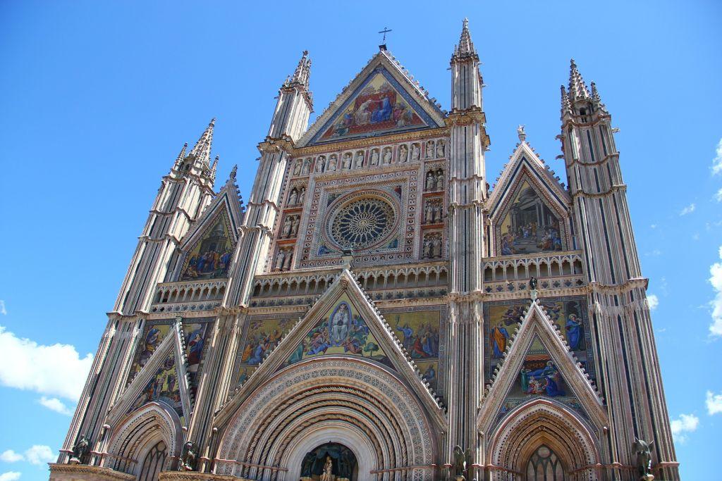Der Dom in Orvieto - Sprachreise nach Italien