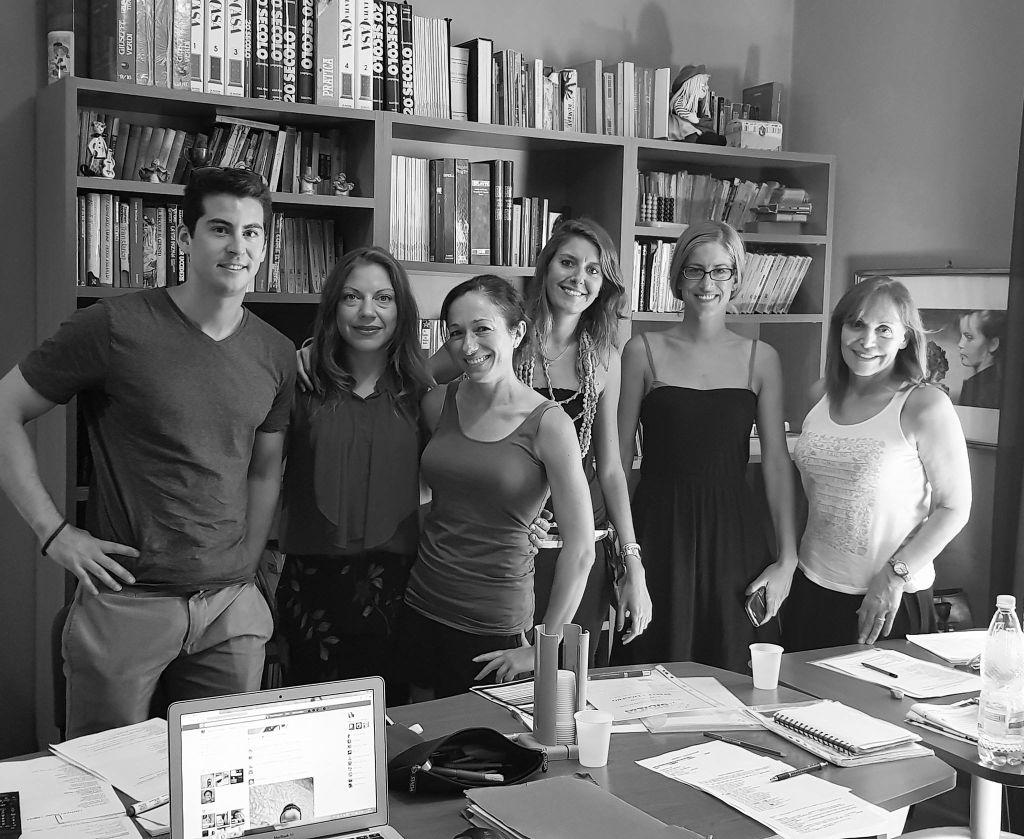 Studenten der Sprachschule in Palermo - Italienisch lernen