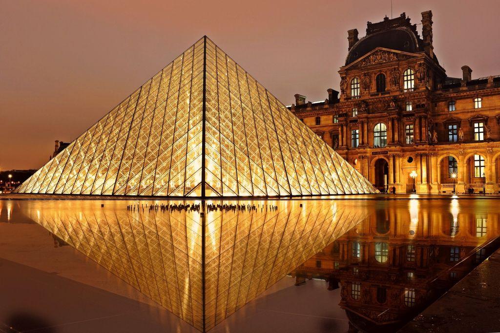 Das Musée du Louvre in Paris